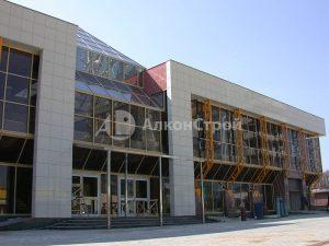 Алюминиевые фасады Торговый центр в Одинцово