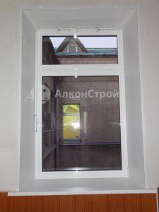 наши работы алюминиевые окна