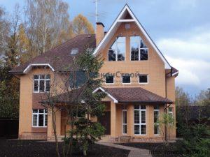 Остекление фасадов коттеджей