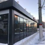 Алюминиевый фасад
