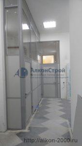 Алюминиевые офисные перегородки