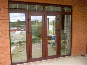Двери ПВХ Наши работы
